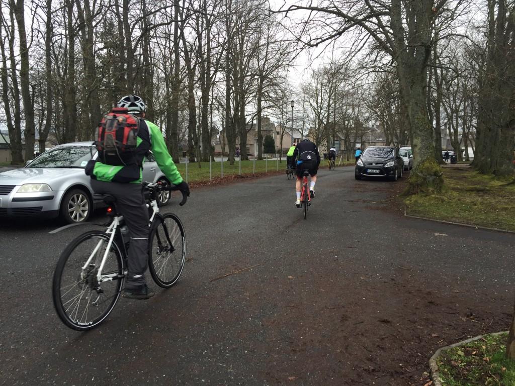 The 50km start