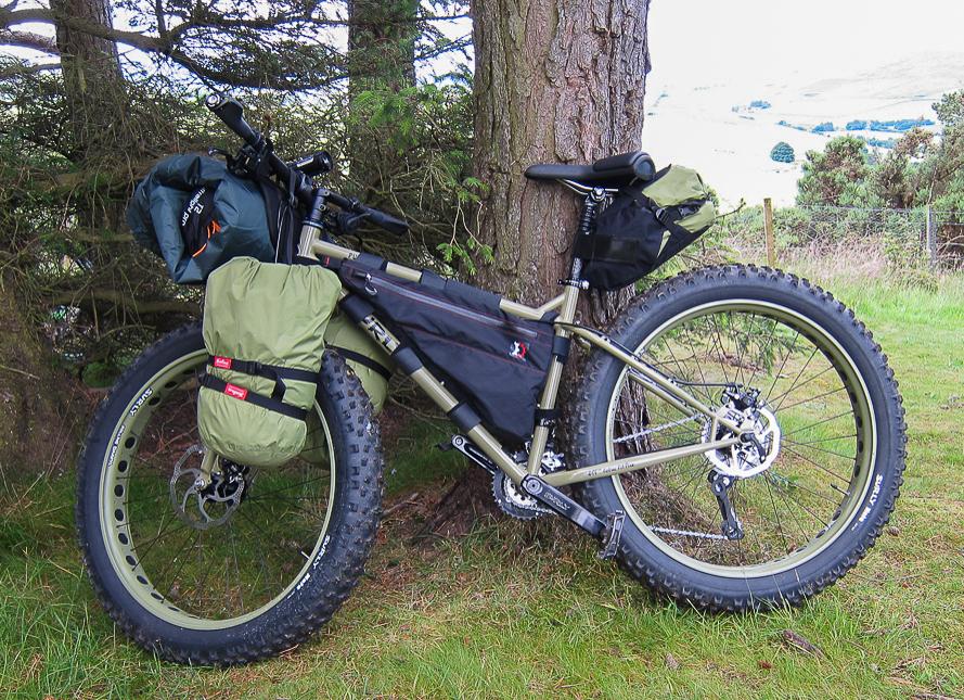Bikpacking type setup